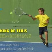Inscripción para el VII Ránking de tenis RSD Hípica