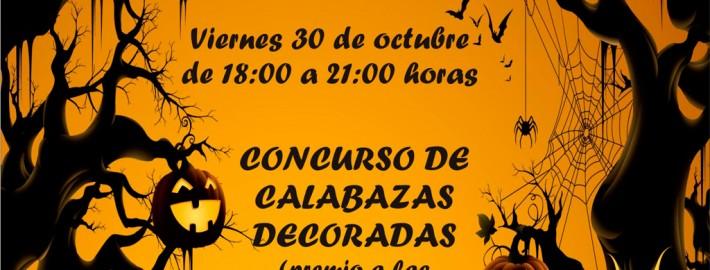 Fiesta infantil de Hallowen. Concurso de calabazas y magosto. De 18 a 21 horas.