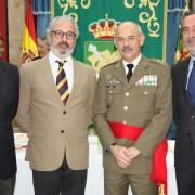 Despedida del General Javier Abajo en el cuartel de Atocha