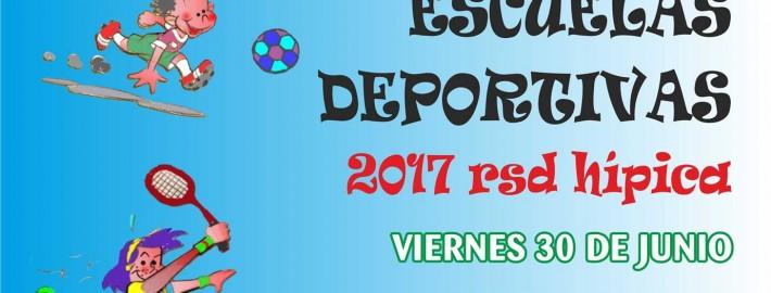 Fiestas infantil con motivo del final de la temporada 2016/17 de las escuelas deportivas de la RSD Hípica.