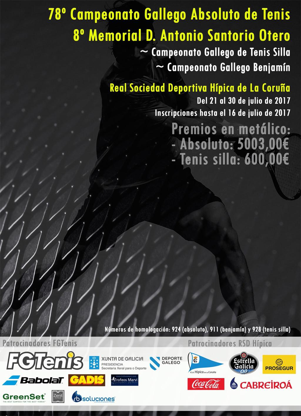 Campeonato Gallego de Tenis en la RSD Hípica