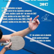Torneo Social Tenis de Mesa 2017