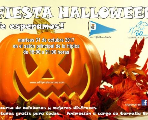 Fiesta de Halloween 2017