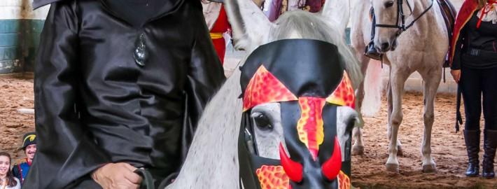 """""""gymkhana"""" de Carnaval de la Sección Hípica"""