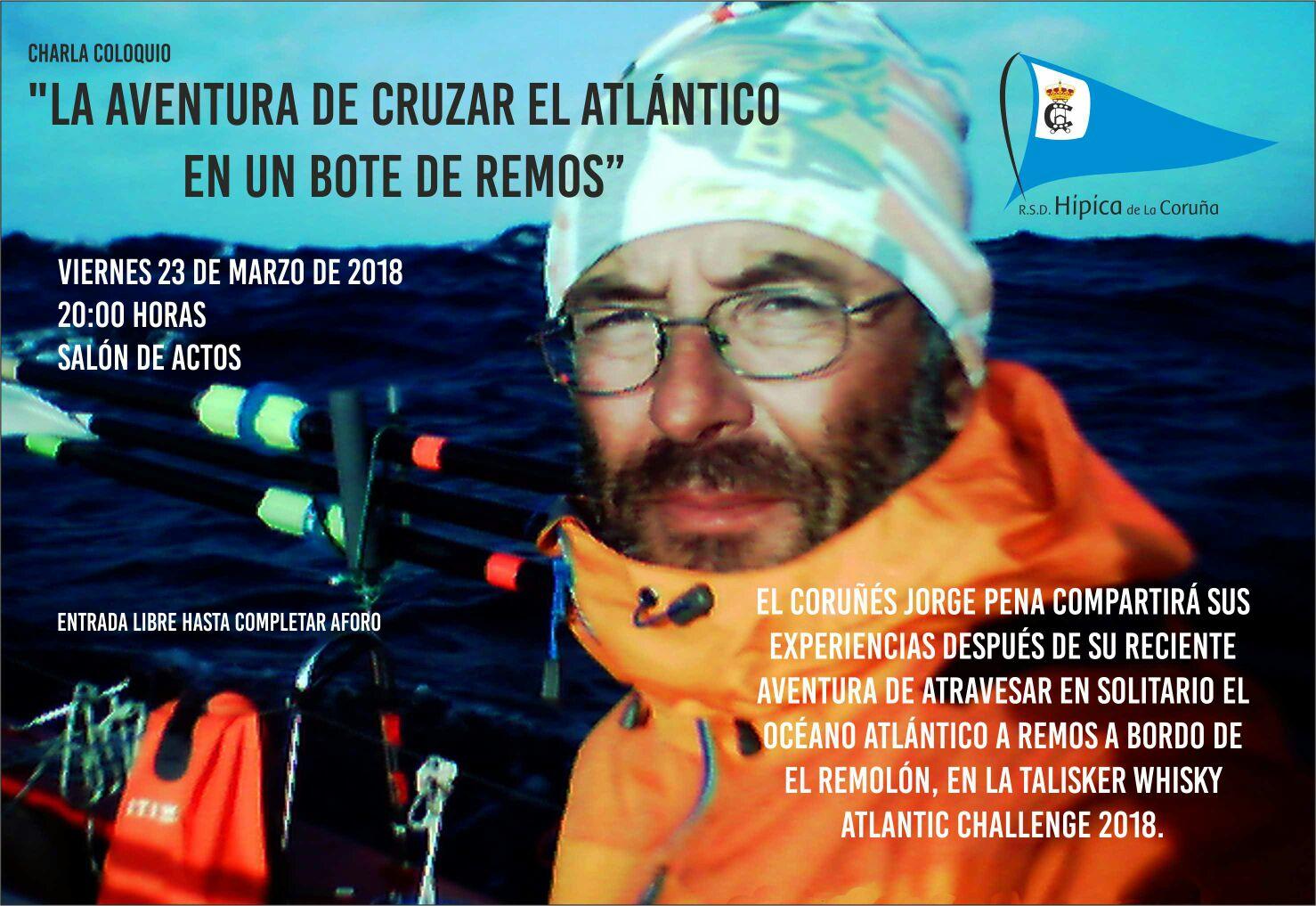 la aventuira de cruzar el atlántico en un bote de remos
